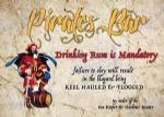 Metal Signs - Pirate Rum